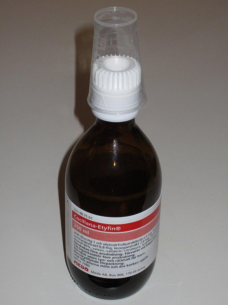 Hostmedicin cocillana etyfin