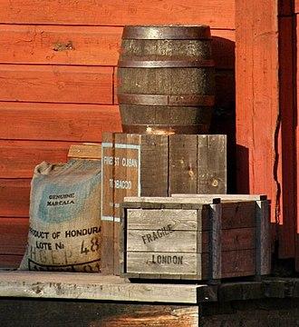 Sweeney Prizery - Image: Coffee, Tobacco & Dynamite derivative