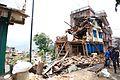 Collapsed buildings in earthquake-hit Chautara, Nepal (16693413433) (2).jpg
