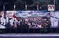 Collectie NMvWereldculturen, TM-20019406, Dia- Schildering ter gelegenheid van het 40-jarig jubileum van de viering van Onafhankelijkheidsdag, Henk van Rinsum, 08-1985.jpg
