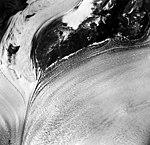 Columbia Glacier, Valley Glacier Ogive, August 24, 1964 (GLACIERS 1089).jpg