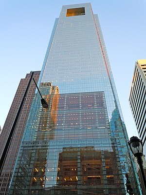 Comcast Center - Image: Comcast Philly
