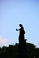 Confederate Monument - silhouette - Arlington National Cemetery - 2011.JPG