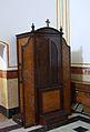 Confessionari a l'església de sant Francesc de Paula, el Ràfol d'Almúnia.JPG