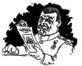 Constantin Jiquidi - Valorosul Căpitan Moș Teacă citește regulat organul nostru 11 feb 1896.png