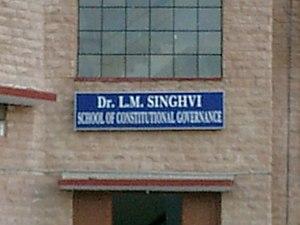 National Law University, Jodhpur - Image: Constitutional block