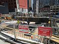 Construction around the old Westinghouse building, at Soho and King, 2017 05 18 -ak (33906303204).jpg