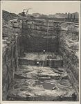 Construction of eastern skewback for Sydney Harbour Bridge, 1926 (8282710555).jpg