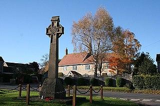 Corfe village in the United Kingdom