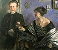 Corinth Georg Hirschfeld and his wife.jpg