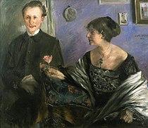 Corinth Georg Hirschfeld and his wife.jpg
