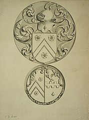 Notes for the heraldic coat of arms of the Roose family