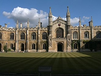 William Wilkins (architect) - Corpus Christi College, Cambridge