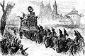 Cortège lors des funérailles du roi Léopold Ier le 16 décembre 1865.jpg