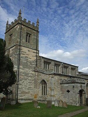 Coughton, Warwickshire - St Peters Church, Coughton, Warwickshire