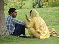 Couple in Nishat Bagh Garden - Srinagar - Jammu & Kashmir - India (26570407430).jpg