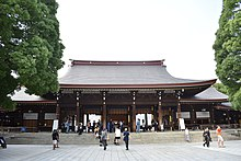 Courtyard of Meiji Shrine 20190717.jpg
