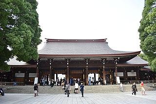 Meiji Shrine Shinto shrine in Tokyo, Japan