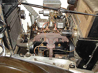 Coventry Climax - Type OC engine in a Crossley 10 hp