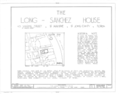 Cover Sheet - Long-Sanchez House, 43 Marine Street, Saint Augustine, St. Johns County, FL HABS FLA,55-SAUG,30- (sheet 1 of 9).png