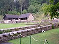 Cover buildings, Chedworth Roman Villa - geograph.org.uk - 1408333.jpg