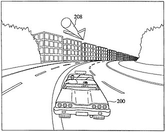 Sega patented the core gameplay mechanics of games like Crazy Taxi to prevent cloning. Crazy tax us patent 6200138.jpg