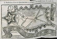Cremona in una mappa del XVII secolo