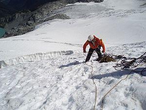 Taken while on a Mountain Rescue Evaluation co...