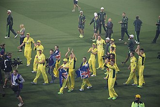 2015 Cricket World Cup Final - Image: Cricket World Cup Final 2015 (16786210538)