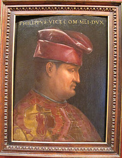 Cristofano dell'altissimo, filippo visconti, ante 1568.JPG