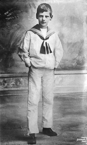 Frederick IX of Denmark - Crown Prince Frederick in 1914.