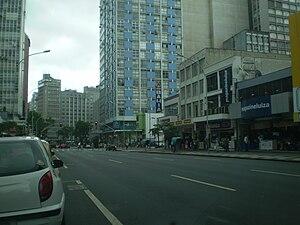 Rua Marechal Deodoro em Curitiba
