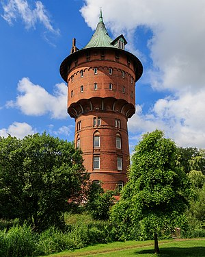 Cuxhaven - Water tower in Cuxhaven.
