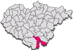 Commune Cuzăplac in Sălaj County
