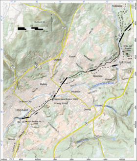 Used Cars Delaware >> Delaware and Hudson Gravity Railroad - Wikipedia