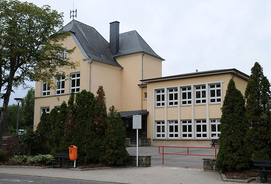 School in  Bivange, municipality of Roeser.
