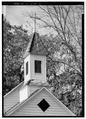 DETAIL, CHURCH STEEPLE - Church of the Epiphany, Intersection S-38-1132 and S-38-1133, Eutawville, Orangeburg County, SC HABS SC,38-EUTV,1-5.tif