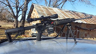 DPMS Panther Arms - End user modified DPMS Oracle AR-15