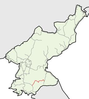Chongnyon Ichon Line railway line
