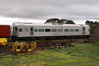Daylesford Spa Country Railway - DRC40 in the yard at Daylesford
