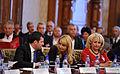 Daciana Sarbu si Viorica Dancila la Atelierele Viitorului - Editia a III-a, Palatul Parlamentului (10775361256).jpg