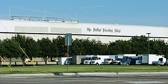 The Dallas Morning News - The Dallas Morning News main printing plant and distribution center in Plano, Texas.