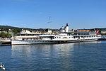 Dampfschiff Stadt Rapperswil - Bürkliplatz 2012-09-20 15-25-47 (P7000).JPG