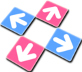Dance Dance Revolution dance pad icon.png