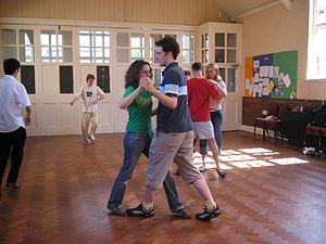 Dance studio - Dancing lesson at College, Cambridge