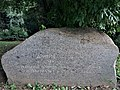 Daniel Neff plaque in Borisova Grdaina, Sofia, Паметна плоча на Даниел Неф в Борисовата Градина, София.jpg