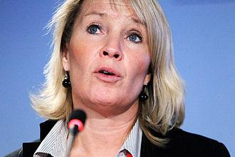 Lene Espersen - Image: Danmarks utrikesminister Lene Espersen pa Nordiska Radets session i Reykjavik pa Island 2010 11 03