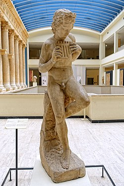 Daphnis, Roman copy from a group from the 2nd century AD, Cinquantenaire Museum, Brussels.jpg