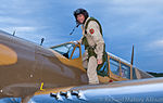 Dave Hadfield on P-40 wing with WWII pilot Frank Waywell.jpg