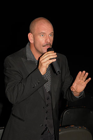 David James (actor, born 1972) - David James at the November 2009 screening of The Ultimate Gift for South African charity Faces of Hope.